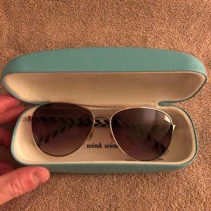 Kate Spade Aviator Style Sunglasses